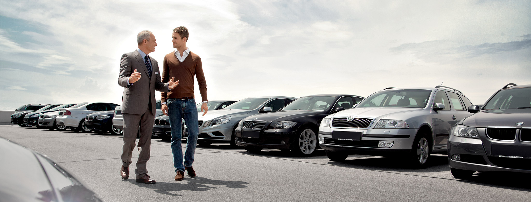 Variety of cars to choose from